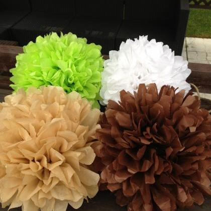15 inch large #pompom, #party #poms..